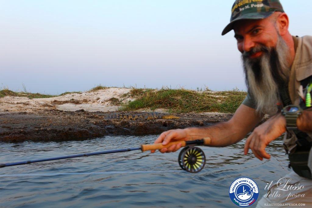 flyfishing and crocodiles